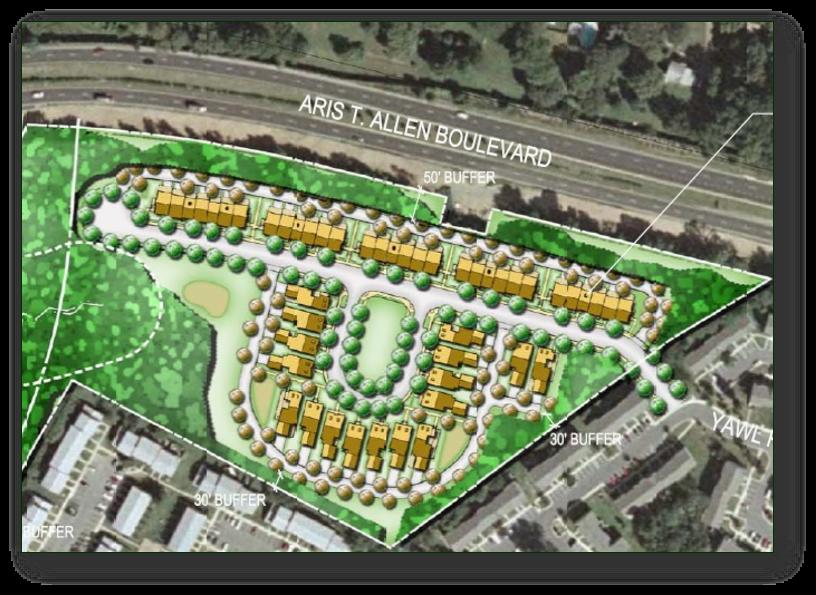 Aris T. Allen Aerial